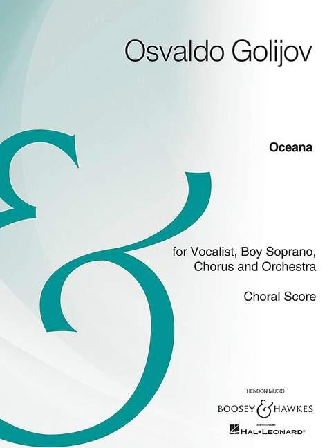 Golijov O. - Oceana - Voix