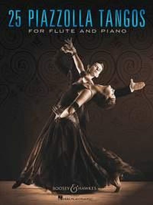 PIAZZOLLA ASTOR - 25 PIAZZOLLA TANGOS - FLUTE AND PIANO