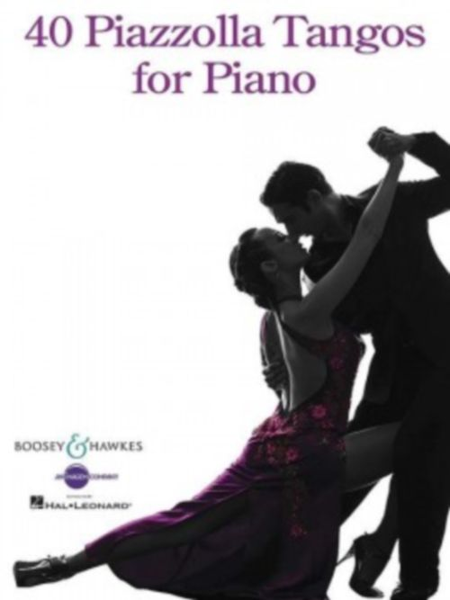 Piazzolla Astor - 40 Piazzolla Tangos For Piano - Piano
