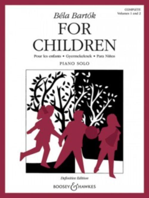 Bartok Bela - For Children Vol.1 and 2 - Piano
