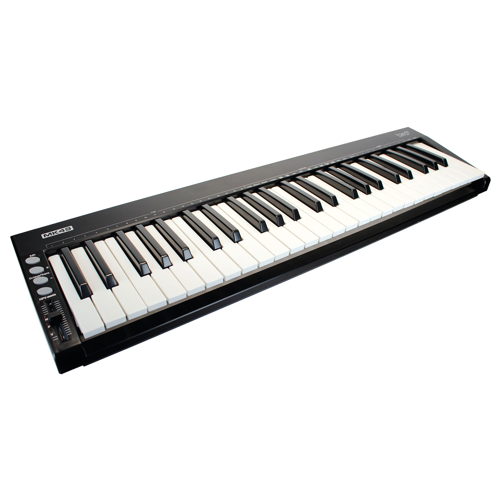 clavier ma tre usb midi 49 touches m audio keystation 49es. Black Bedroom Furniture Sets. Home Design Ideas