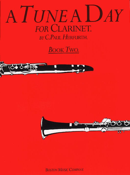 A TUNE A DAY FOR CLARINET BOOK TWO CLT - BOOK 2 - CLARINET