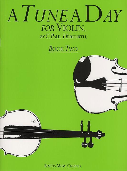 A Tune A Day For Violin Book Two Vln - Book 2 - Violin