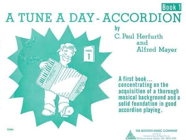 A Tune A Day For Accordion Book One - Accordion