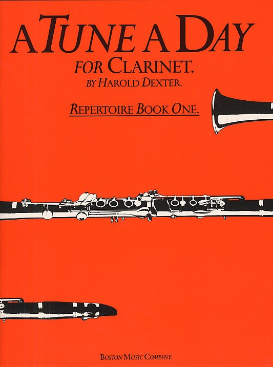 A Tune A Day - Repertoire Book 1 - Clarinet
