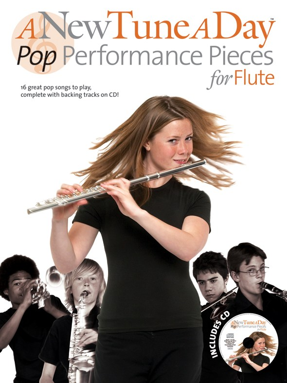 A NEW TUNE A DAY POP PERFORMANCE PIECES + CD - FLUTE