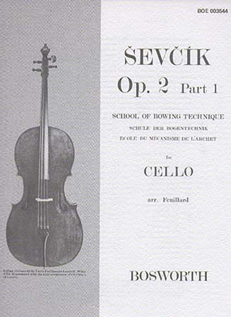 Sevcik - Op.2 Part.1 - Ecole Du Mecanisme De L'archet - Violoncelle