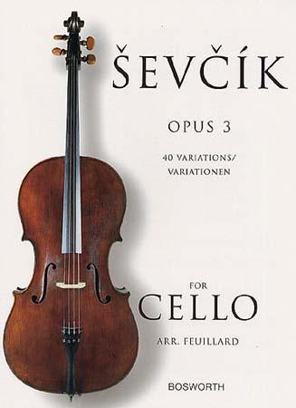 Sevcik - Etudes Op.3. 40 Variations - Violoncelle