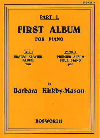 KIRKBY-MASON FIRST ALBUM FOR PIANO PART.1