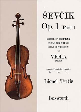 Sevcik - Op.1 Part.1 - Ecole De Technique - Alto