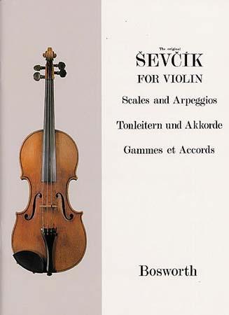 Sevcik - Gammes Et Accords - Violon