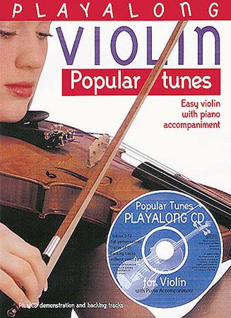 Play Along Violin - Popular Tunes - Violon