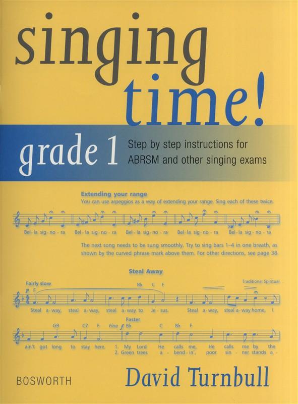 David Turnbull Singing Time! Grade 1 - Voice