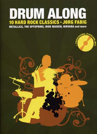 Drum Play Along - 10 Hard Rock Classics + Cd