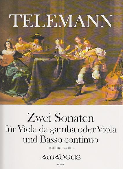 Telemann G. P. - Zwei Sonaten - Viole De Gambe Et Bc