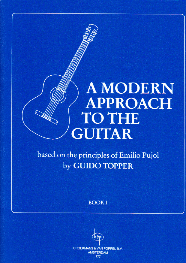 TOPPER GUIDO - A MODERN APPROACH TO THE GUITAR VOL.1
