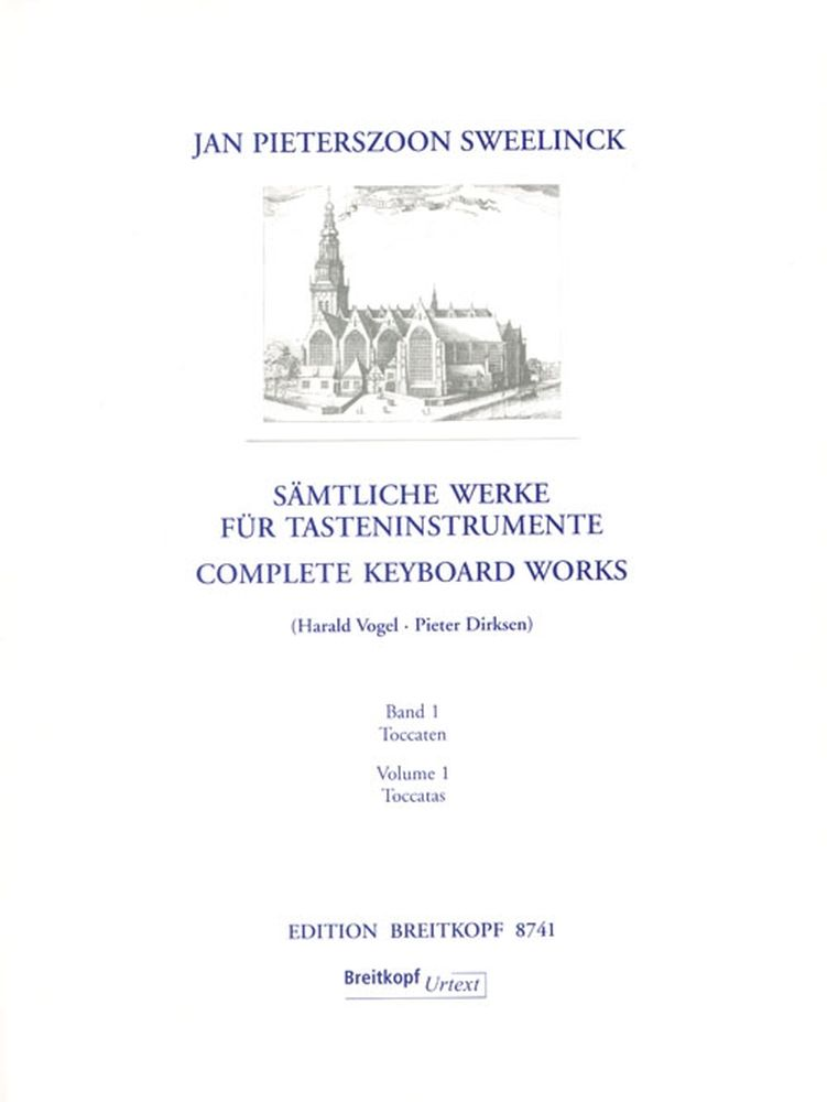 SWEELINCK J.P. - INTEGRALE POUR CLAVIER (ORGUE) VOL.1