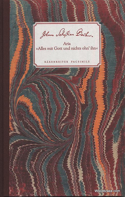 Bach J.s. - Aria Alles Mit Gott Und Nichts Ohn'ihn