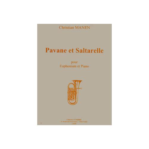 Manen Christian - Pavane Et Saltarelle Op.177 - Euphonium Et Piano