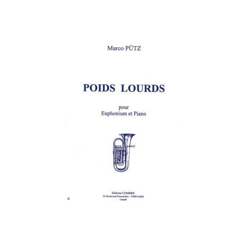 Putz Marco - Poids Lourds - Euphonium Et Piano