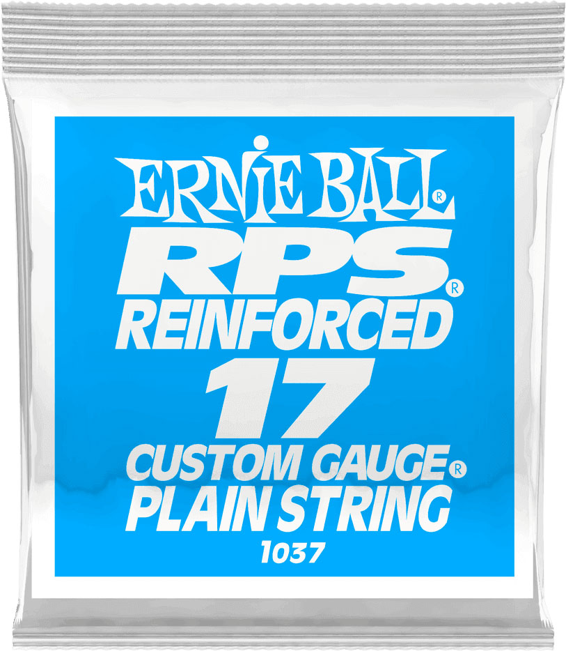 .017 RPS REINFORCED PLAIN ELECTRIC GUITAR STRINGS