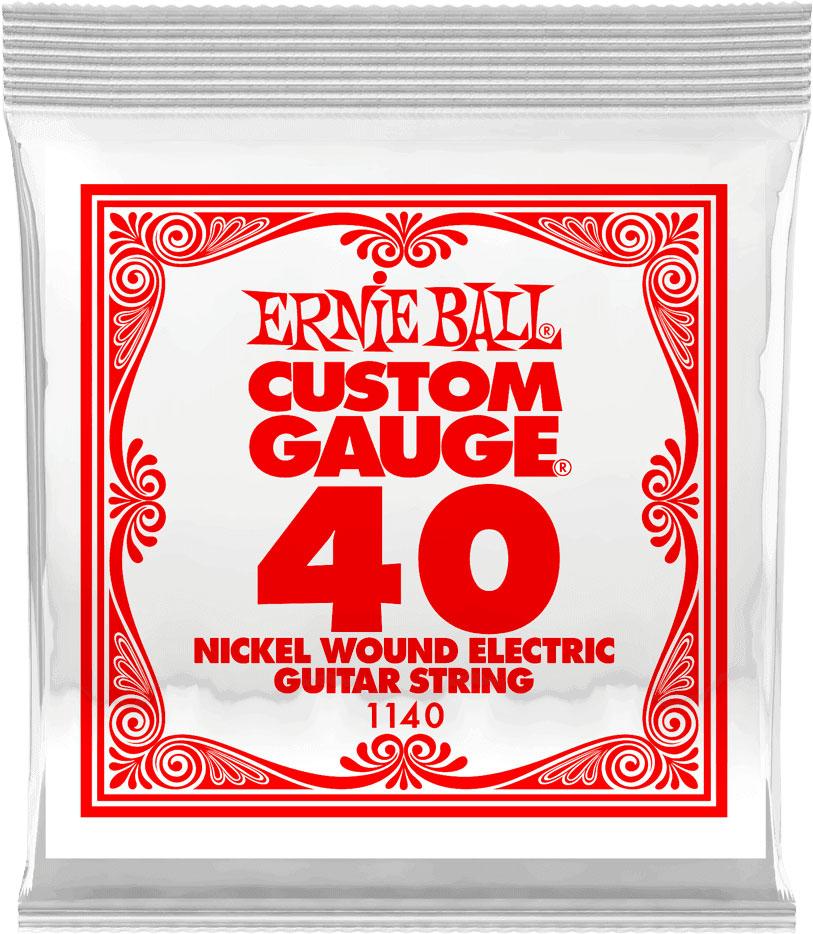 ERNIE BALL SLINKY NICKEL WOUND 40