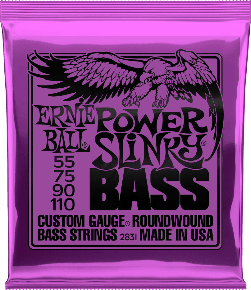 2831 POWER SLINKY 55 75 90 110 (4 STRING)