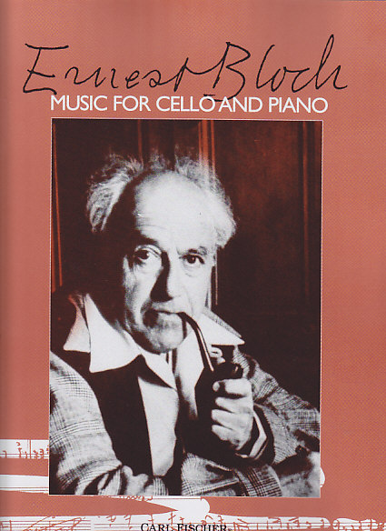 BLOCH ERNST - MUSIC FOR CELLO AND PIANO