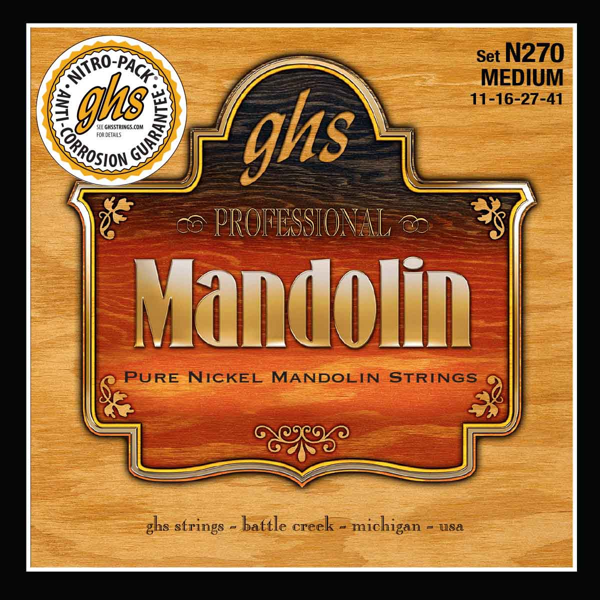 Ghs Mandoline Pure Nickel Medium 11-16-27-41