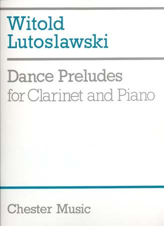 Lutoslawski W. - Dance Preludes - Clarinette,piano