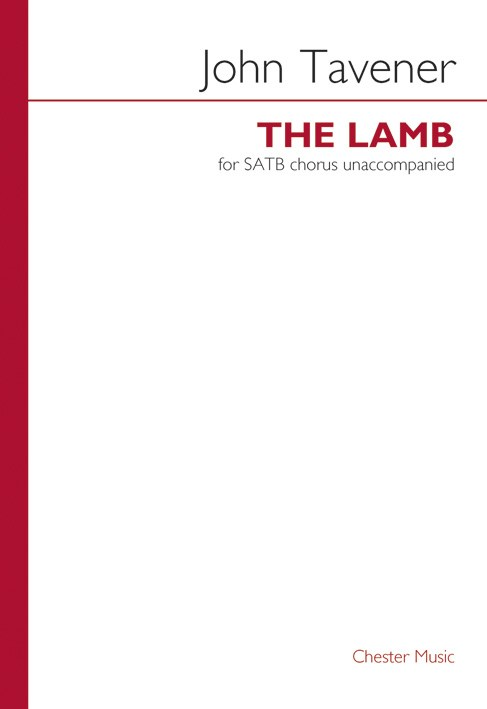 WILLIAM BLAKE - THE LAMB- SATB-WILLIAM BLAKE - SATB