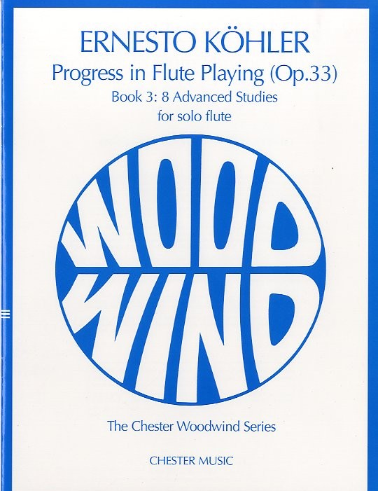 PROGRESS IN FLUTE PLAYING OP.33 BOOK 3 FOR SOLO FLUTE