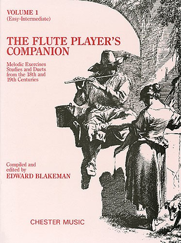 THE FLUTE PLAYER'S COMPANION - VOLUME 1 EASY-INTERMEDIATE - FLUTE