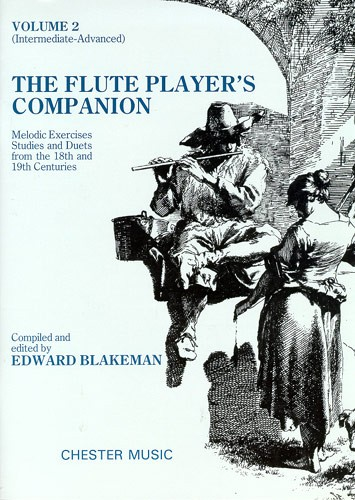 Blakeman Edward - The Flute Player's Companion - Intermediate-advanced - 2 - Flute