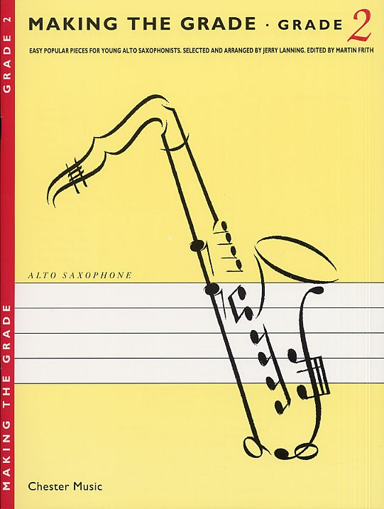 Jerry Lanning - Making The Grade - Saxophone - 2
