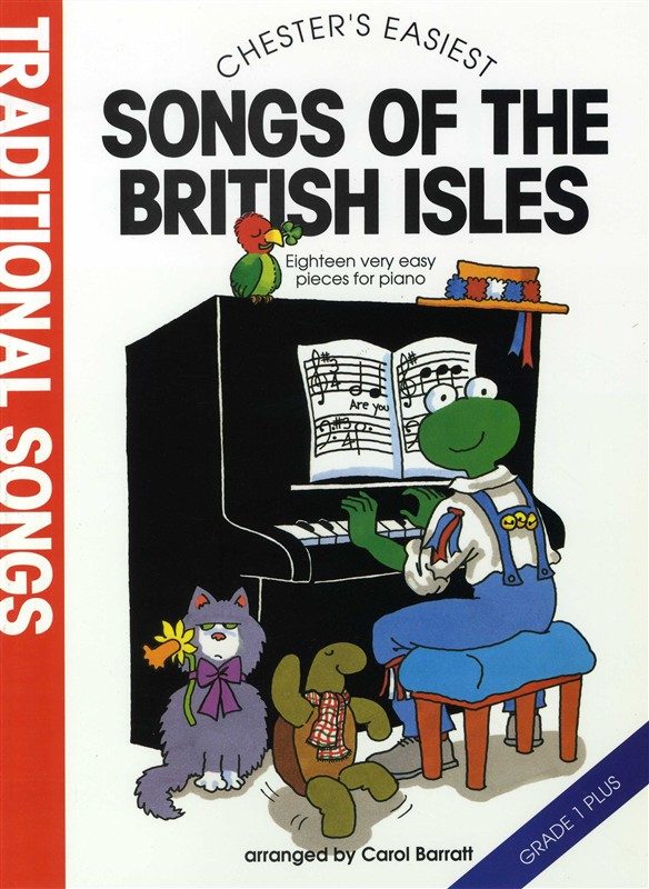 CHESTER'S EASIEST TRADITIONAL SONGS OF THE BRITISH ISLES - PIANO SOLO