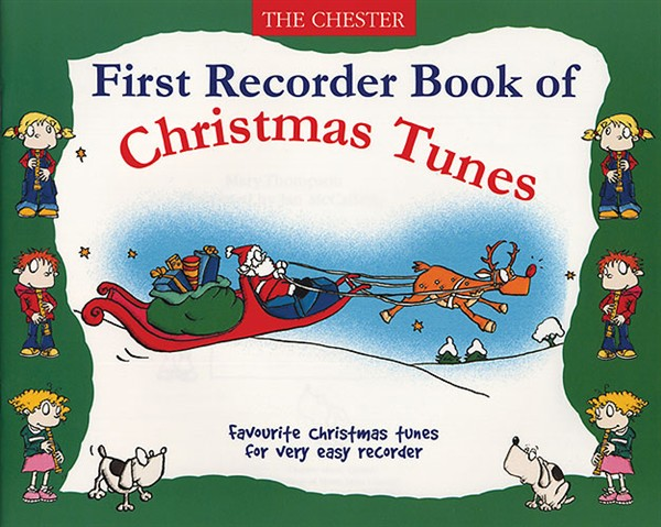 First Recorder Book Of Christmas Tunes - Recorder