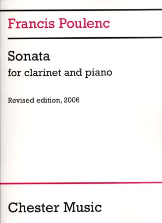 Poulenc Francis - Sonate - Clarinette and Piano