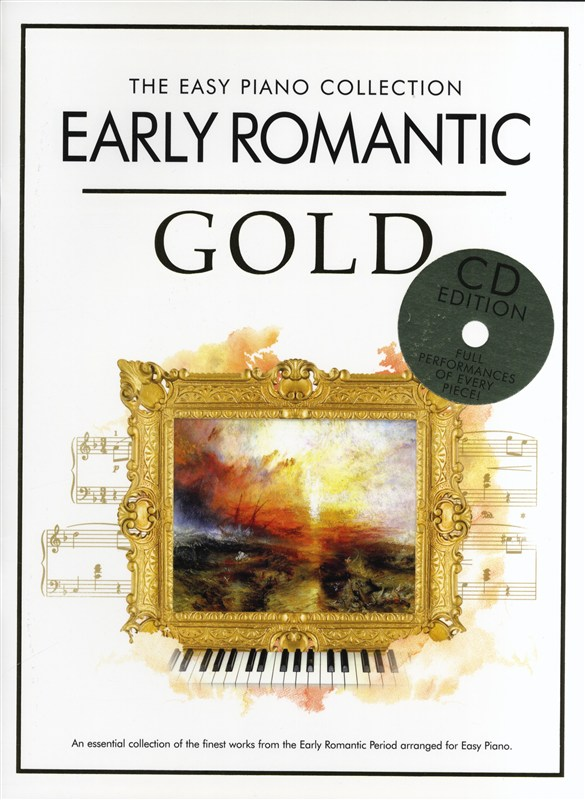 THE EASY PIANO COLLECTION - EARLY ROMANTIC GOLD - PIANO SOLO