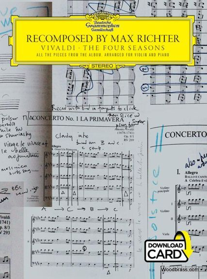 RECOMPOSED BY MAX RICHTER: VIVALDI, THE FOUR SEASONS - VIOLON & PIANO