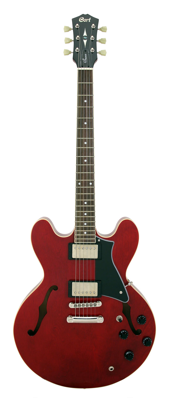 Cort Source Red Bigsby