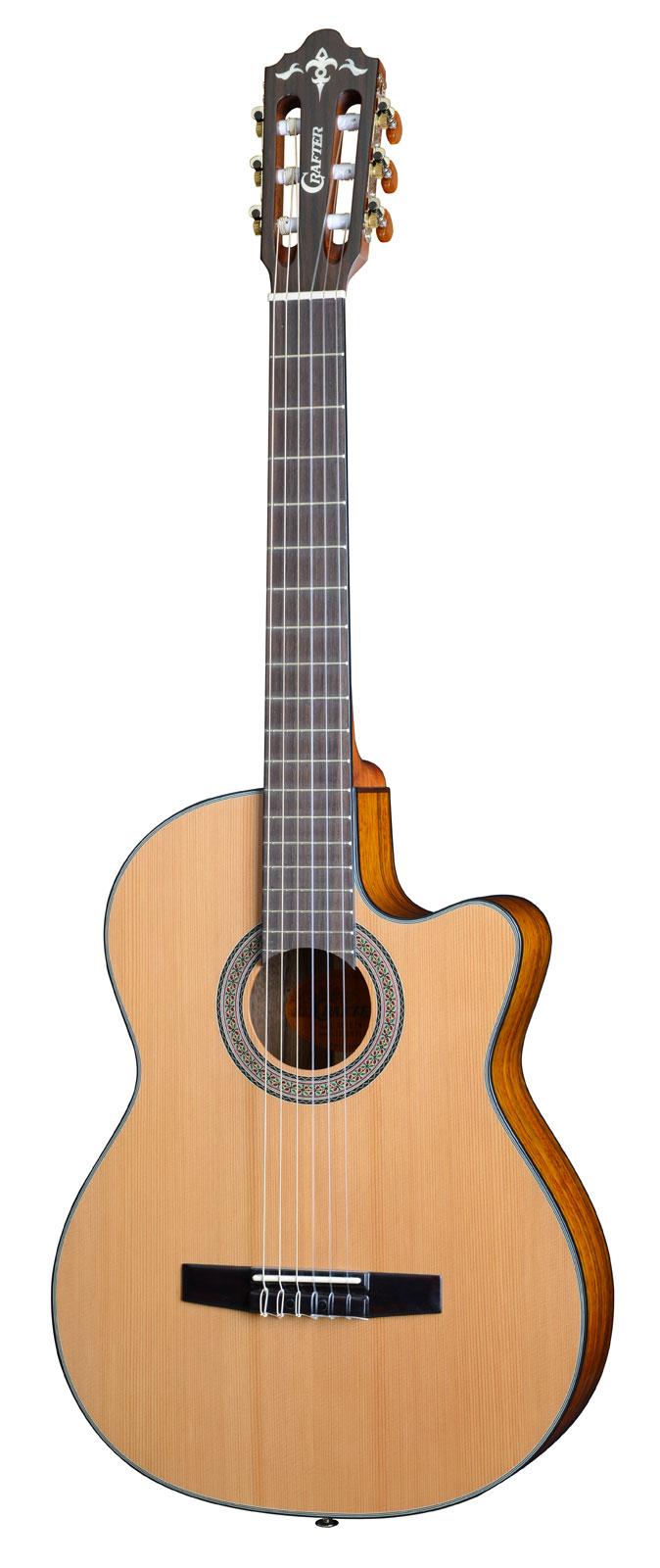 guitare de luxe classique electro acoustique par. Black Bedroom Furniture Sets. Home Design Ideas