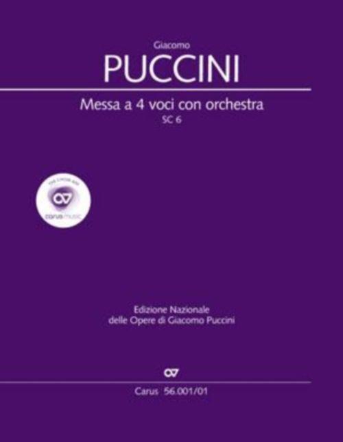 Puccini G. - Messa Di Gloria - Conducteur