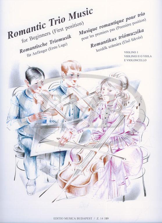 Romantic Trio Music For Beginners - Ensemble Cordes