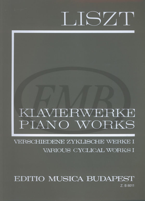 LISZT F. - VARIOUS CYCLICAL WORKS VOL 1 - PIANO