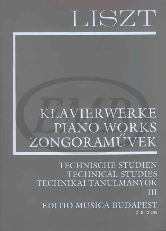 Liszt Franz - Technical Studies 3 - Piano