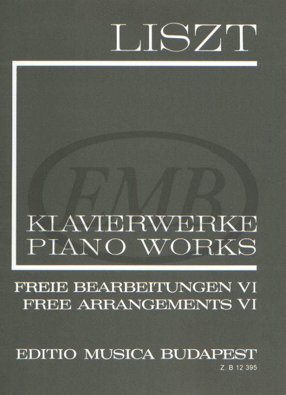 LISZT F. - FREE ARRANGEMENTS VOL 6 - PIANO