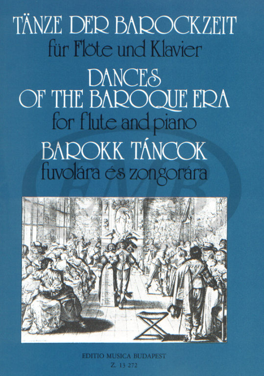 DANCES OF THE BAROQUE ERA - FLUTE ET PIANO