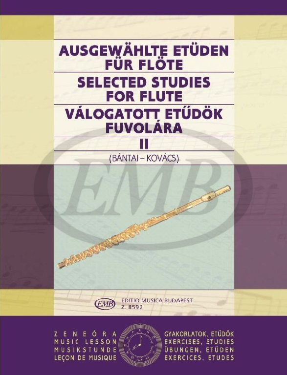 Bantai-kovacs - Selected Studies Vol.2 - Flute