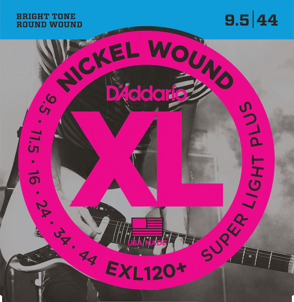 Labella HRSXL Hard Rockin Steel S/érie Jeu de Cordes pour Guitare Electrique 9//42 Extra Light